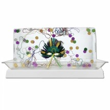 "Buffet Enhancements 010LCS55LED-WT 56"" LED Lighted Ice Display with White Base"