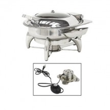 Buffet Enhancements 010YC2-EL New Age™ Electric Round Chafing Dish 6 Qt.
