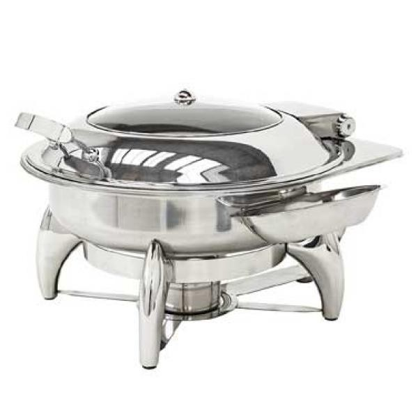 Buffet Enhancements 010YC2 New Age™ Round Chafing Dish 6 Qt.