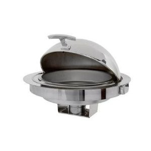 Buffet Enhancements 010YC42 Empire Style Drop-In Round Chafing Dish 6.9 Qt.