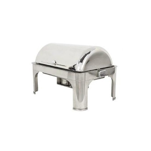 Buffet Enhancements 010YC5 Empire Style Rectangle Chafing Dish with Base 8 Qt.
