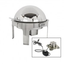 Buffet Enhancements 010YC6-EL Empire Style Electric Round Chafing Dish with Base