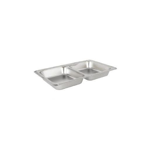 Buffet Enhancements 010YPZ23 8 Qt. Cold Display Rectangular Food Pan