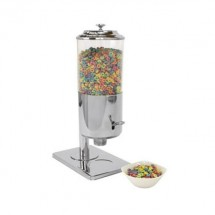 Buffet Enhancements 010YPZ26 Stainless Steel Single Cereal Dispenser