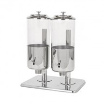Buffet Enhancements 010YPZ27 Stainless Steel Double Cereal Dispenser