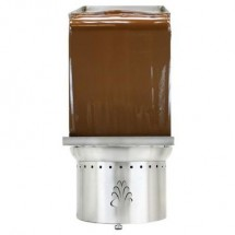 "Buffet Enhancements 1BACF40WALL Chocolate Fountain Wall, Fits 40"" American Chocolate Fountain"