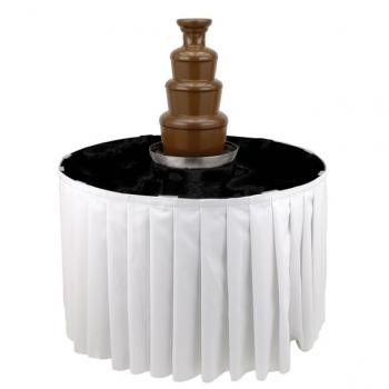 "Buffet Enhancements 1BACFT48P 48"" Chocolate Fountain Table"