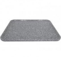 Buffet Enhancements 1BAG2430 Chefstone™ Rectangle Food Tray, Grey Granite
