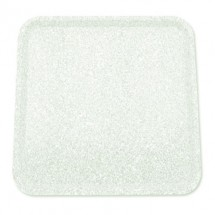 Buffet Enhancements 1BAG2430WG Chefstone™ Rectangle Food Tray, White Granite