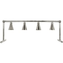 Buffet Enhancements 1BAGHL72S Four Heat Lamp Serving Line