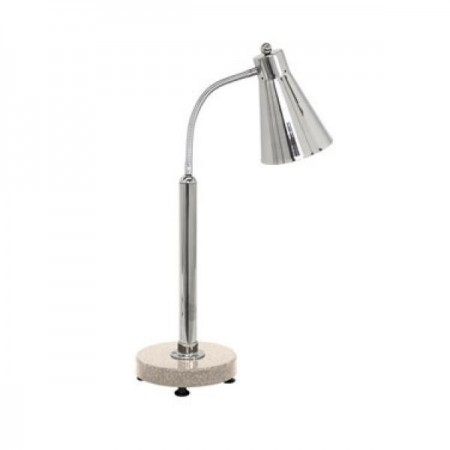 Buffet Enhancements 1BAGHPSA Freestanding Heat Lamp with Sandstone Chefstone™ Base