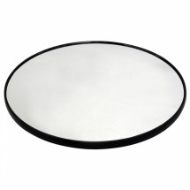 "Buffet Enhancements 1BGM14ROUND 14"" Round Food Display Glass Mirror"