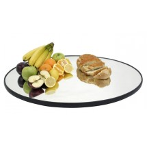"Buffet Enhancements 1BGM18ROUND 18"" Round Food Display Glass Mirror"