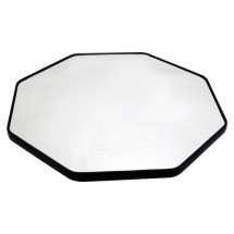 "Buffet Enhancements 1BGM24OCT 24"" Octagonal Food Display Glass Mirror"