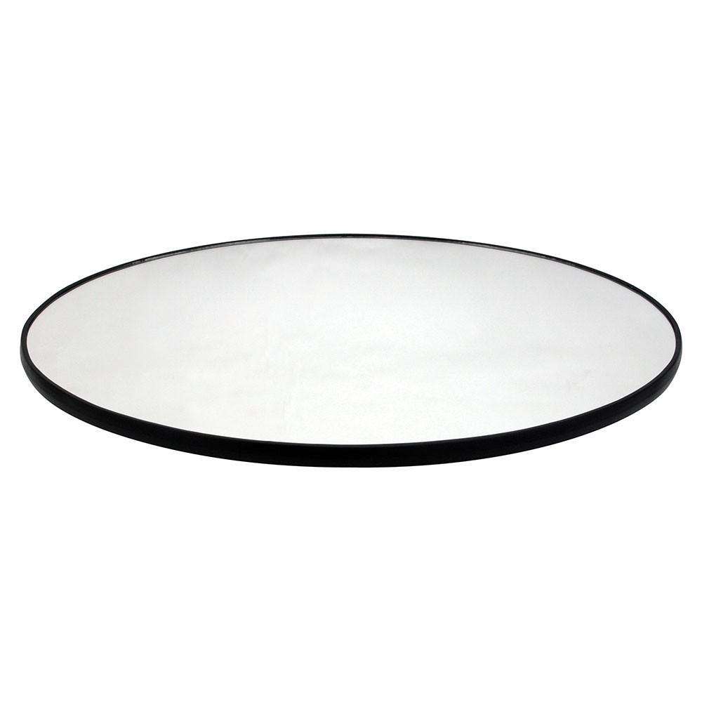 "Buffet Enhancements 1BGM32OVAL 32"" Oval Food Display Glass Mirror"