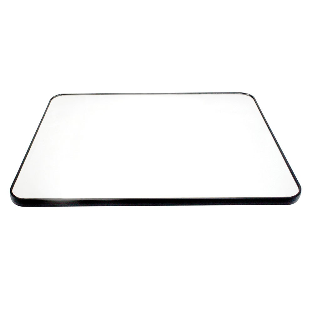 "Buffet Enhancements 1BGM32RECT 32"" Rectangular Food Display Glass Mirror"