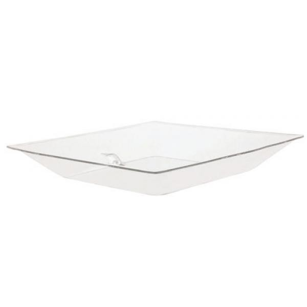 Buffet Enhancements 1BLPT24 Ice Display Square Tray With Drain 24""