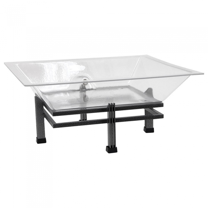 Buffet Enhancements 1BLRE22 Wrought Iron Ice Display Base
