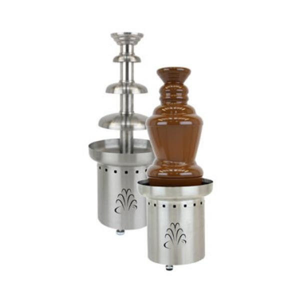"Buffet Enhancements 1BMFCF27J10 27"" 3-Tier Chocolate Fountain - 100V"