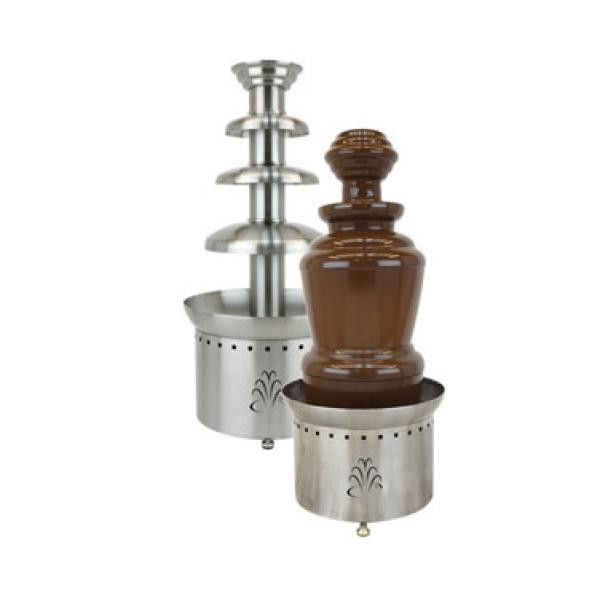 "Buffet Enhancements 1BMFCF35J10 35"" 3-Tier Chocolate Fountain - 100V"