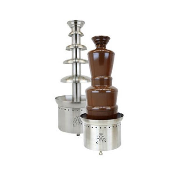 "Buffet Enhancements 1BMFCF40E22 40"" 4-Tier Chocolate Fountain - 220V"