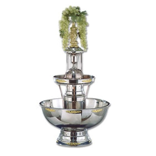 Buffet Enhancements 1BMFDC7GT 7 Gallon Gold Trim Champagne Fountain
