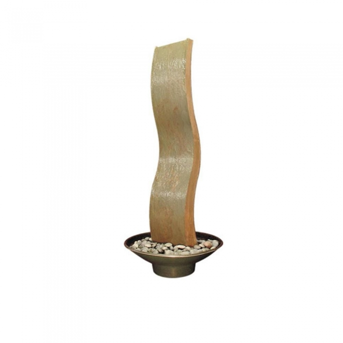 """Buffet Enhancements 1BMWC64 Water Wall Curved Decorative Fountain 64"""""""