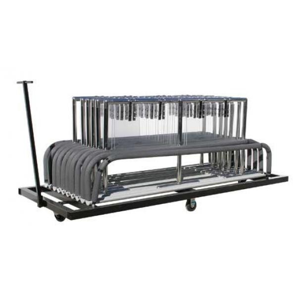 Buffet Enhancements 1BSGFCART Folding Sneeze Guard Cart