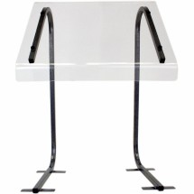 "Buffet Enhancements 1BSGP24 24"" Portable Sneeze Guard"