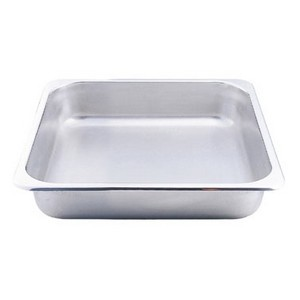 Buffet Enhancements 1BT11104 Chafing Dish Square Food Pan 5.8 Qt.