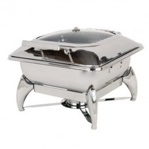 Buffet Enhancements 1BT15601 New Age™ Induction Ready Square Chafing Dish 5.8 Qt.