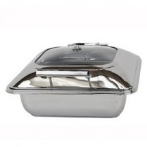 Buffet Enhancements 1BT15601C Induction Ready Square Chafing Dish 5.8 Qt.