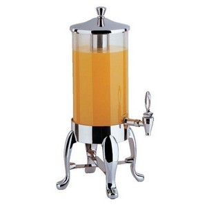 Buffet Enhancements 1BT18610-CHO 2 Gallon Deluxe Juice Dispenser with Chrome Legs