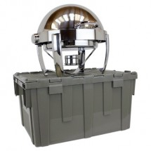 Buffet Enhancements 1BTC261 Deluxe Cater-Crate For Classic Round Chafing Dish 1BT1261D