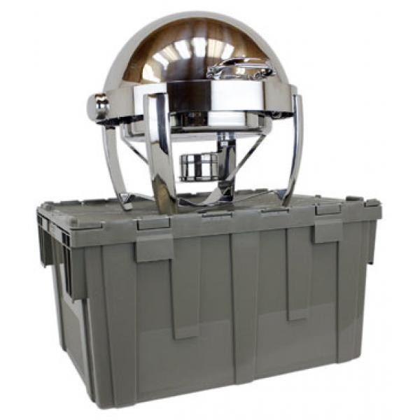 Buffet Enhancements 1BTC262 Deluxe Cater-Crate Set With Classic Round Chafing Dish
