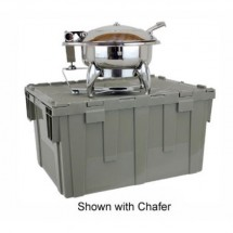 Buffet Enhancements 1BTC301 Deluxe Cater-Crate Set For New Age™ Large Chafing Dish, 1BT15301