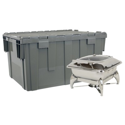 Buffet Enhancements 1BTC602 Deluxe Cater-Crate Set Includes New Age™ Square Chafing Dish