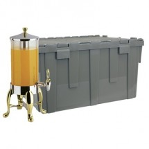 Buffet Enhancements 1BTC611B Deluxe Cater-Crate Set With 1.8 Gallon Beverage Dispenser