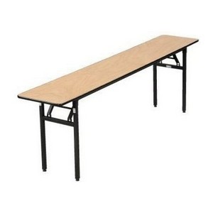 "Buffet Enhancements 1BWD130003 72"" x 18"" Rectangular Folding Tables"
