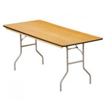 "Buffet Enhancements 1BWD130005 72"" x 30"" Rectangular Folding Tables"