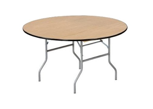 """Buffet Enhancements 1BWD130009 Round Folding Tables 66"""""""