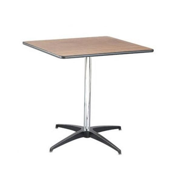 Buffet Enhancements 1BWD130015 Square Pedestal Tables 30""