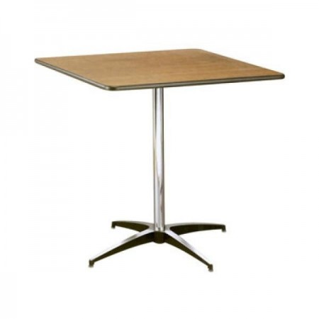 Buffet Enhancements 1BWD130016 Square Pedestal Table 36""