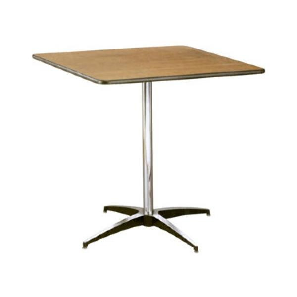Buffet Enhancements 1BWD130016 Square Pedestal Tables 36""