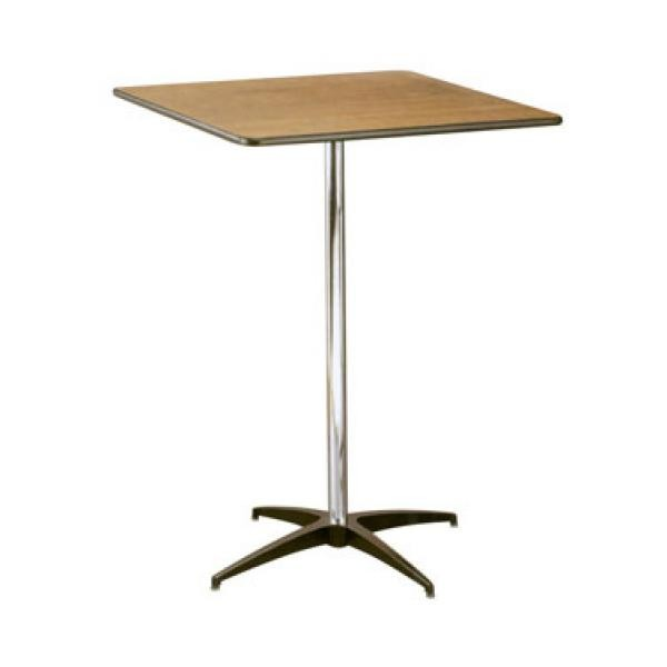 Buffet Enhancements 1BWD130025 Square Pedestal Tables 30""