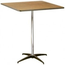 Buffet Enhancements 1BWD130026 Square Pedestal Tables 36""