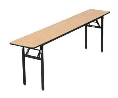 "Buffet Enhancements 1BWD1300824 72"" x 24"" Rectangular Folding Tables"