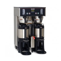 Bunn 34600.0004 4 BrewWISE ThermoFresh Dual Coffee Brewer, Stainless Steel 16.3 Gallon