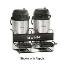 Bunn 35728.0001 2 Universal Airpot Rack with 2 Lower Racks