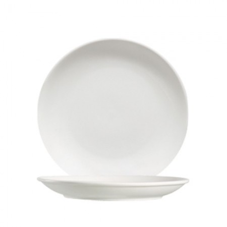 """CAC China 101-16C Lincoln Porcelain Coupe Plate 10"""" - 1 doz"""